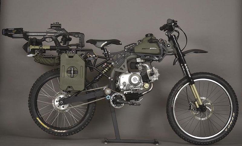 Оцеляване на мотопед (1)