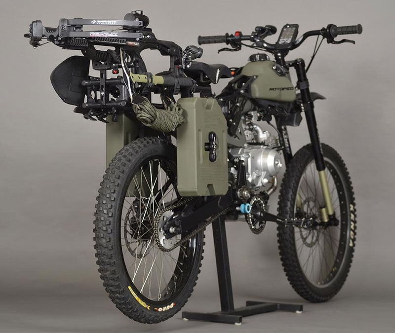 Оцеляване на мотопед (6)