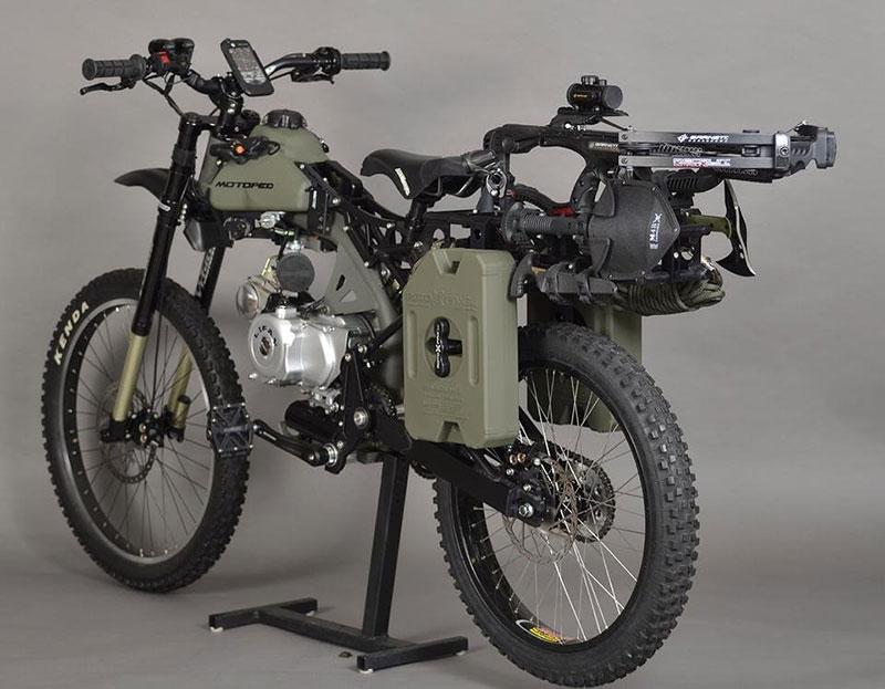 Оцеляване на мотопед (5)