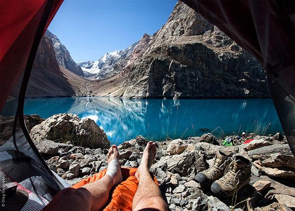 Гледка от палатка (1)