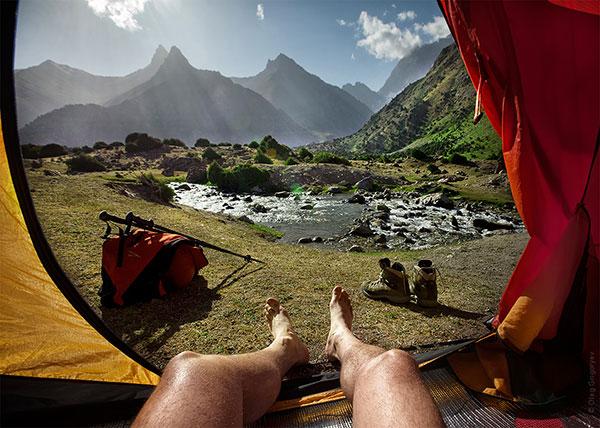 Гледка от палатка (8)