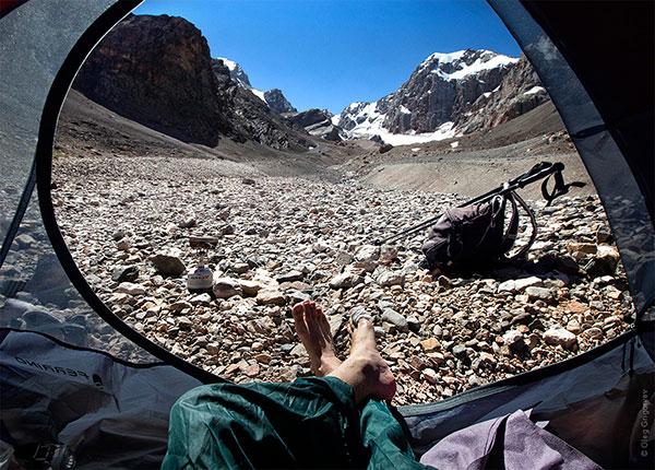 Гледка от палатка (7)