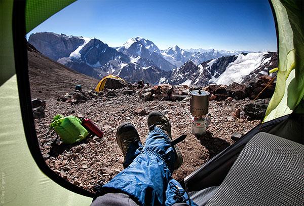 Гледка от палатка (6)