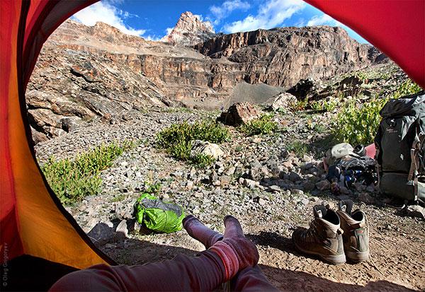 Гледка от палатка (5)
