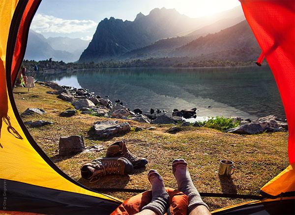 Гледка от палатка (4)