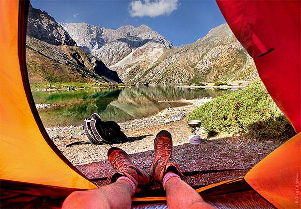 Гледка от палатка (3)
