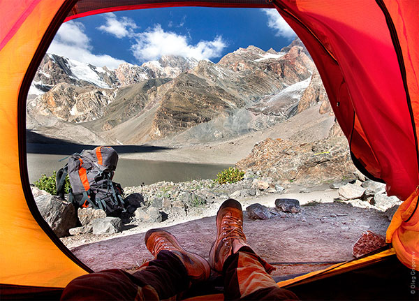 Гледка от палатка (2)