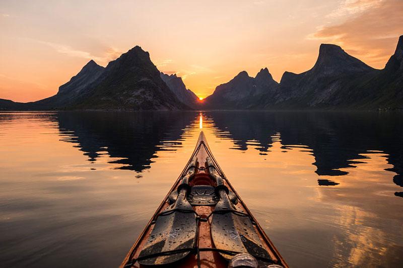 С каяк из норвежките фьорди (3)
