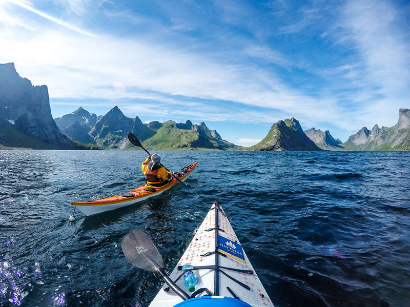 С каяк из норвежките фьорди (5)