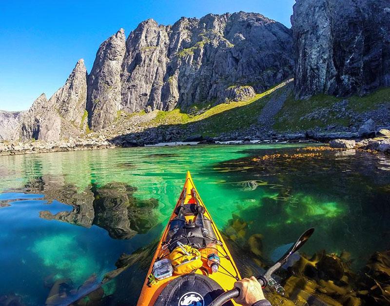 С каяк из норвежките фьорди (7)