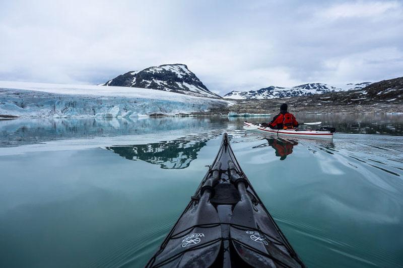 С каяк из норвежките фьорди (6)
